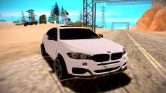 BMW X6M 50D pour GTA San Andreas