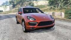 Porsche Cayenne Turbo (958) 2012 [replace] pour GTA 5