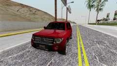 Mitsubishi Pajero SA Plate pour GTA San Andreas