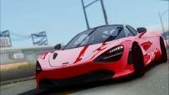 McLaren 720S pour GTA San Andreas