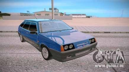 2109 blau für GTA San Andreas