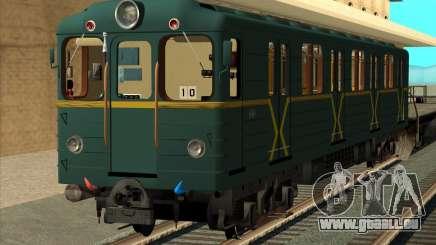 Metrostav de type E de Kiev Modernisation pour GTA San Andreas