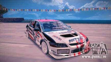 Mitsubishi Lancer Evolution 9 pour GTA San Andreas