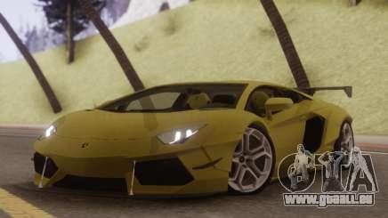 Lamborghini Aventador SV 2015 pour GTA San Andreas