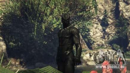 Black Panther CIVIL WAR pour GTA 5
