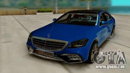 Mercedes Benz S630 W222 für GTA San Andreas
