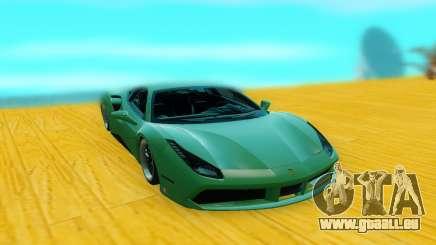 Ferrari 488 GTB pour GTA San Andreas