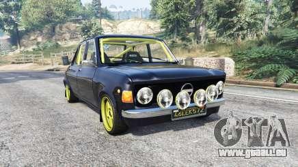 Zastava 1100p rally v2.0 [replace] pour GTA 5