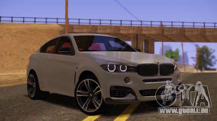 BMW X6 50D pour GTA San Andreas