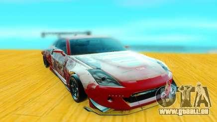 Nissan 350Z rouge pour GTA San Andreas