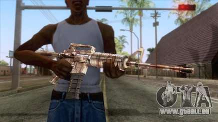 Crossfire M4A1 Camo für GTA San Andreas