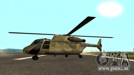 MFR Cargobob Reiter Dschungel-Konzept für GTA San Andreas