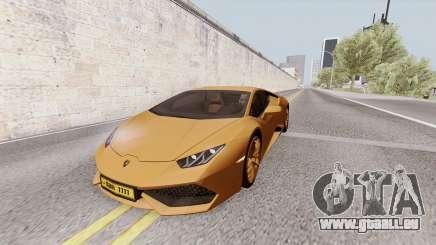 Lamborghini Huracan Dubai pour GTA San Andreas