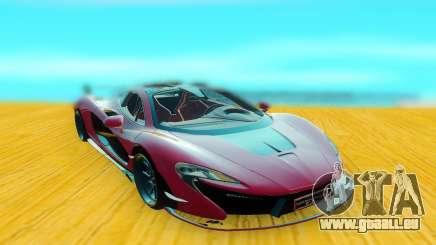 McLaren P1 GSC pour GTA San Andreas
