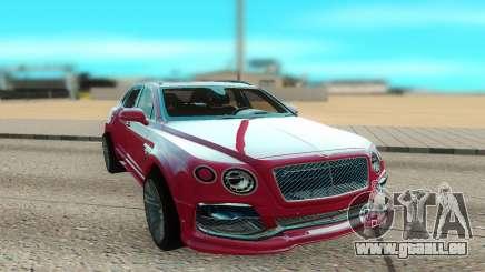 Bentley Bentayga Startech pour GTA San Andreas