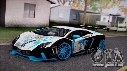 Lamborghini Aventador v3 für GTA San Andreas