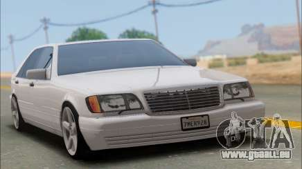 Mercedes-Benz W140 S600 TUNING pour GTA San Andreas