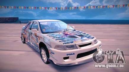 Mitsubishi Lancer EVO VI pour GTA San Andreas