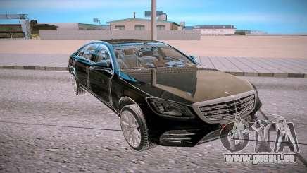 Mercedes Benz S560 W222 4matic für GTA San Andreas