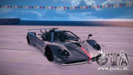 Pagani Zonda Cinque Roadster pour GTA San Andreas