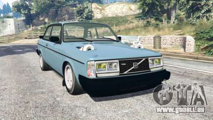 Volvo 242 Turbo v1.2 [replace] pour GTA 5