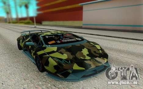 Lamborghini Huracan Performante Liberty Walk pour GTA San Andreas