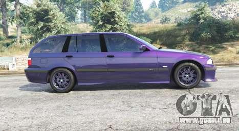 GTA 5 BMW M3 (E36) Touring v2.0 [replace] vue latérale gauche