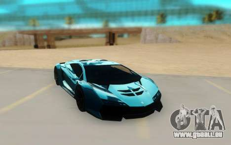 Pegassi Zentorno Next Gen pour GTA San Andreas vue de droite