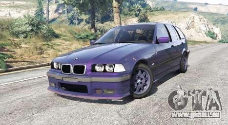 GTA 5 BMW M3 (E36) Touring v2.0 [replace] droite vue latérale