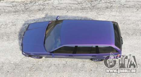 GTA 5 BMW M3 (E36) Touring v2.0 [replace] vue arrière