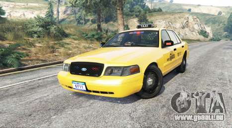 GTA 5 Ford Crown Victoria Undercover Police [replace] droite vue latérale