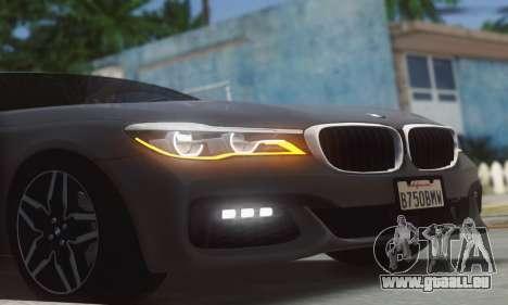 BMW 750i pour GTA San Andreas