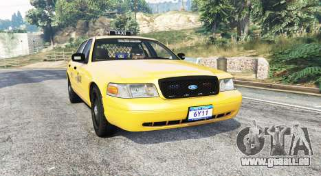 Ford Crown Victoria Undercover Police [replace] pour GTA 5