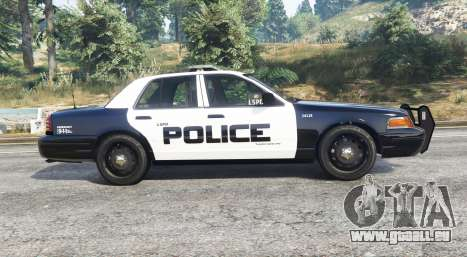 GTA 5 Ford Crown Victoria LSPD [replace] vue latérale gauche