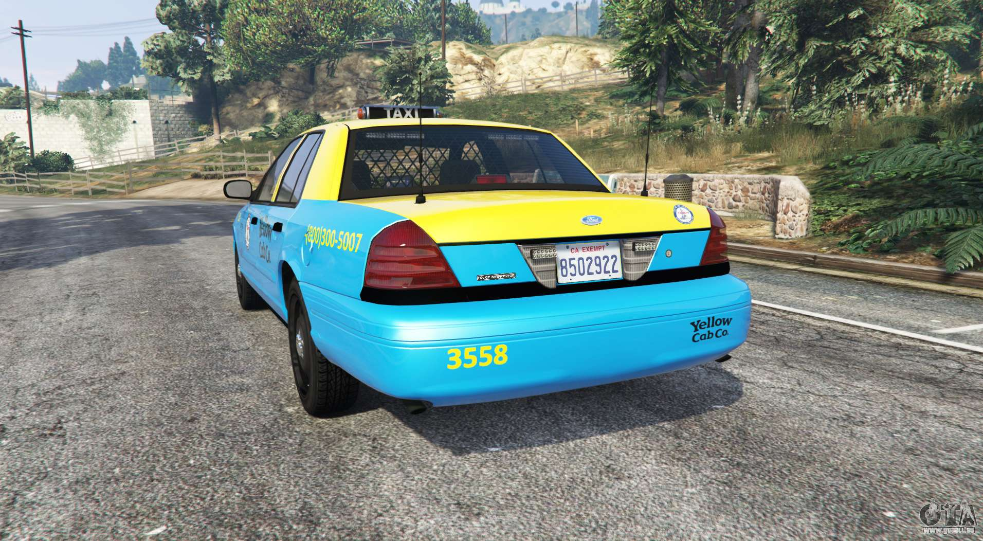 ford crown undercover replace f 252 r gta 5