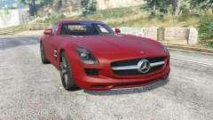 Mercedes-Benz SLS 63 AMG (C197) v1.3 [replace] für GTA 5
