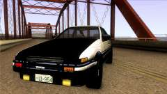 Toyota Corolla AE86 Spinter Trueno GT-Apex 1986 pour GTA San Andreas