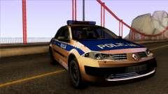 Renault Polskiej Policji für GTA San Andreas