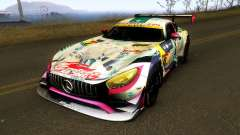 Mercedes Benz AMG GT3 Goodsmile Racing 2018 pour GTA San Andreas