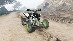 Yamaha YFZ450 Monster Energy v1.1 [replace]