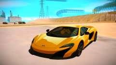 McLaren 675LT pour GTA San Andreas