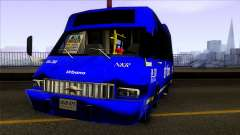 Microbus Chevrolet (SITP De Bogota) für GTA San Andreas