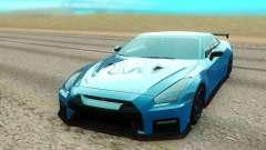 Nissan GTR NISMO bleu pour GTA San Andreas