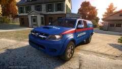 Toyota Hilux Jandarma Olay Yeri Inceleme für GTA 4