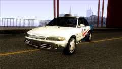 Proton Wira Terengganu City Taxi für GTA San Andreas