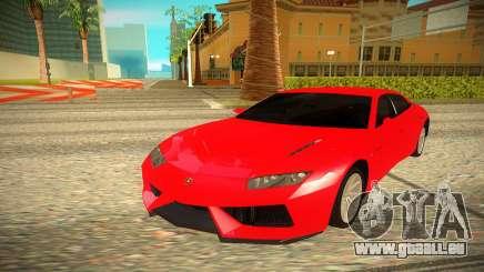 Lamborghini Estoque für GTA San Andreas