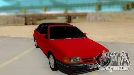 Opel Astra F Cabrio pour GTA San Andreas