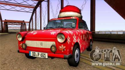 Trabant 601 Christmas Edition pour GTA San Andreas