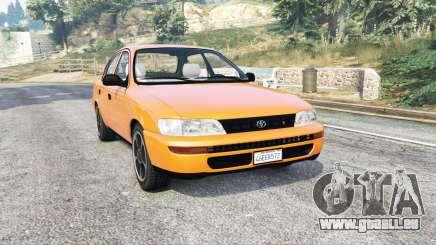 Toyota Corolla v1.15 [replace] pour GTA 5
