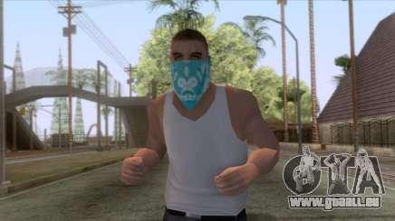 New Varios Los Aztecas Skin 1 pour GTA San Andreas